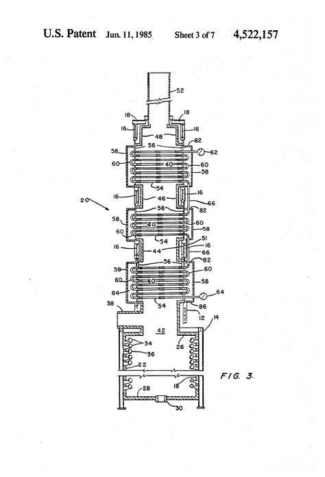heater convection section patent us4522157 convection section assembly for process