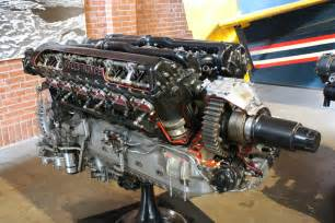 Rolls Royce P 51 Engine Rolls Royce Merlin Engine Cutaway On Display As Fitted To