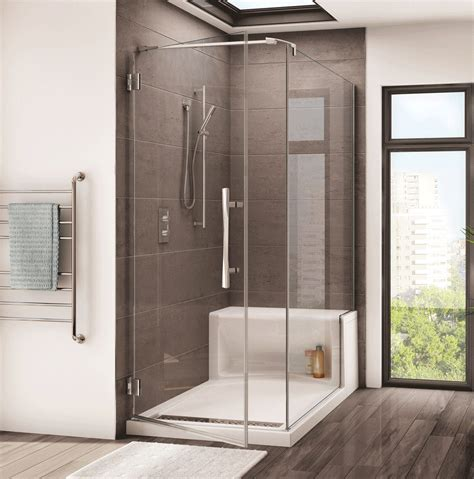 Fleurco Shower Doors Fleurco Shower Doors Fleurco Novara In Line 48 Shower Door Fleurco Novara In Line 48 Shower