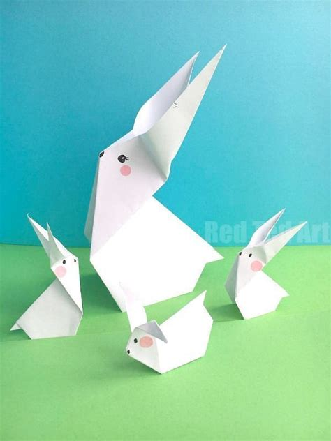 Easter Origami - 410 best papercrafts for images on easy