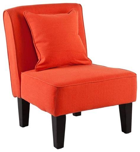 Orange Slipper Chair by Purban Slipper Chairs In Orange Set Of 2