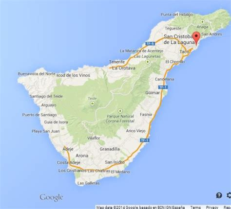 world map tenerife tenerife the major of canary islands world easy guides