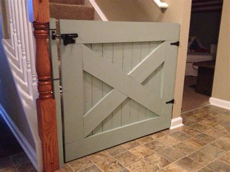 barn door baby gate cheaper than store bought and way