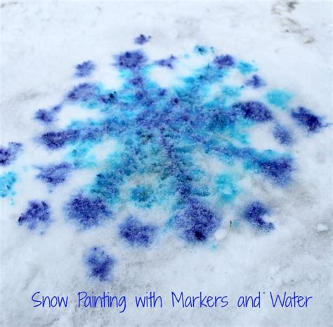 spray painting in winter 508 best seasonal winter activities for images on