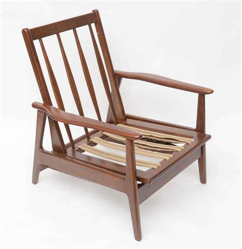 walnut viko baumritter rocking chair 1960s usa at 1stdibs