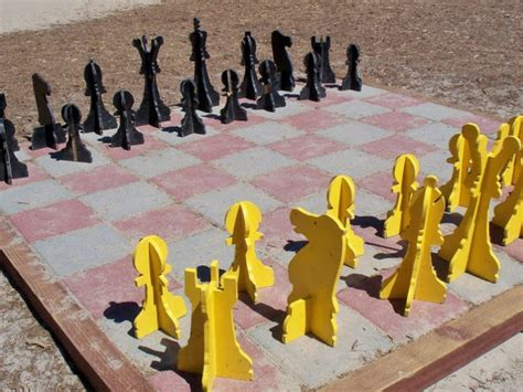 Modern Chess Set outdoor chess 25 ideas and inspirations