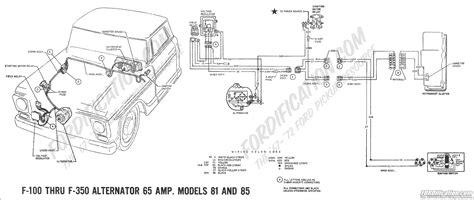 ford truck technical drawings  schematics section  wiring diagrams