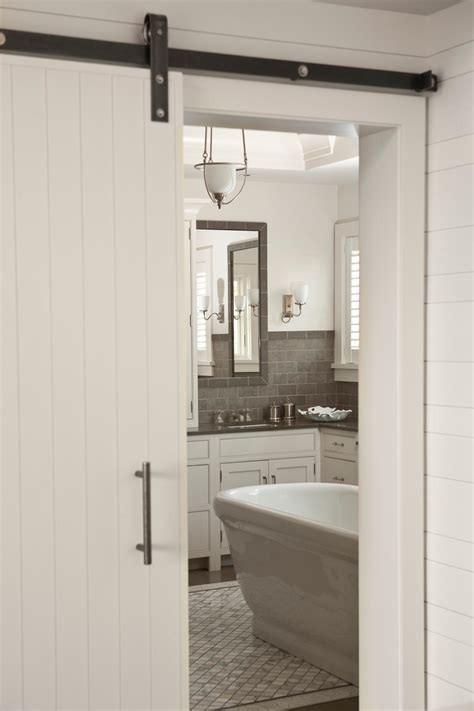 exterior pocket doors bathroom traditional with barn door
