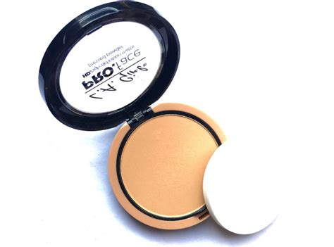 Hd Pressed Powder l a pro hd matte pressed powder review swatches