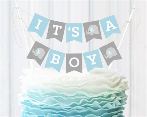 Baby Shower Boy by It S A Boy Baby Shower Bunting Cake Topper On Discover The Best Trending Caleb S