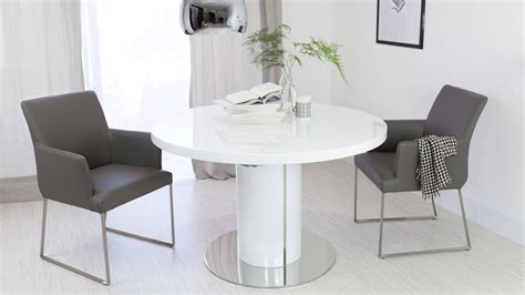 white leather chairs for dining table luxurious contemporary real leather and gloss extending set