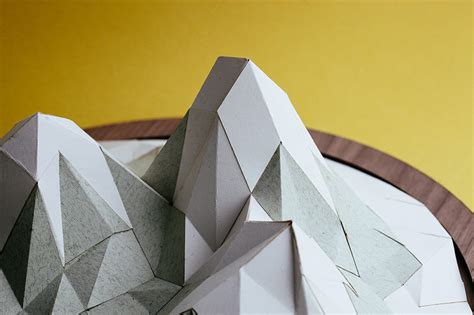 How To Make A Mountain Out Of Paper - how to make almost anything