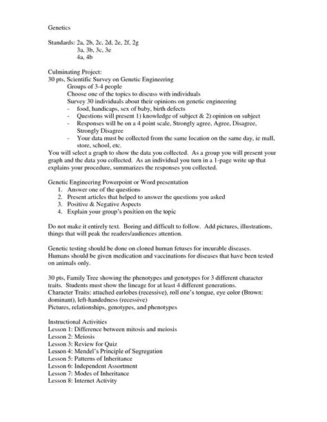 Dna The Molecule Of Heredity Worksheet by 14 Best Images Of Genetics Problems Worksheet With Answer
