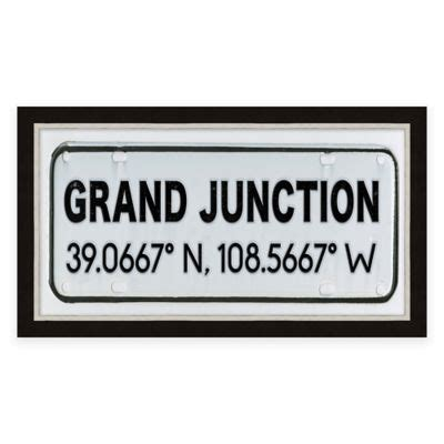 bed bath and beyond fort collins buy fort collins colorado coordinates framed wall art from bed bath beyond