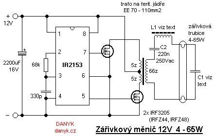 Ccfl Inverter Circuit Diagram