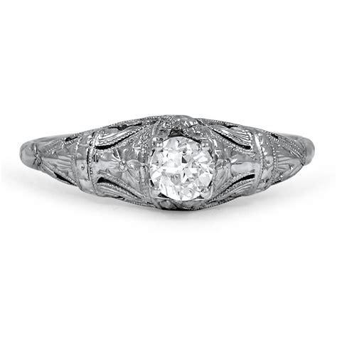 Norene Design by Edwardian Vintage Ring Norene Brilliant Earth