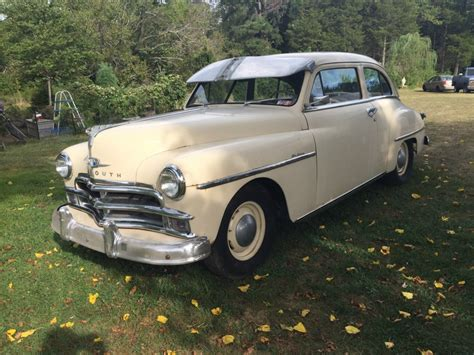 plymouth for sale 1950 plymouth deluxe coupe for sale