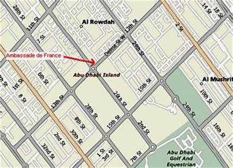 road map us embassy abu dhabi embassies in abu dhabi