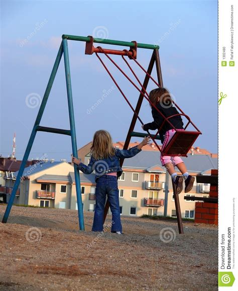 swinging time swinging time stock photo image 1302480