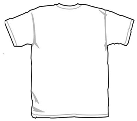 T Shirt Design Vorlage White Shirt For Design Clipart Best