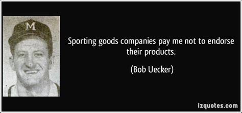 Will Companies Pay For Me To Get My Mba by Sporting Goods Companies Pay Me Not To Endorse The By Bob
