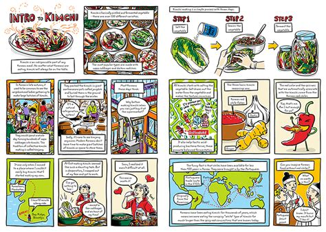 cook korean a comic book with recipes juice quot cook korean quot is now available for pre order