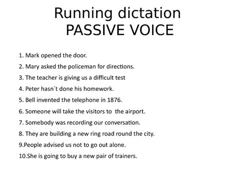 pattern active voice 246 free passive voice worksheets