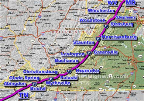 Virginia Traffic Search I 81 Virginia Traffic Map