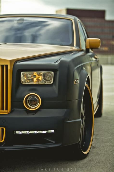 gold phantom car platinum motorsport x shock mansion rolls gold custom