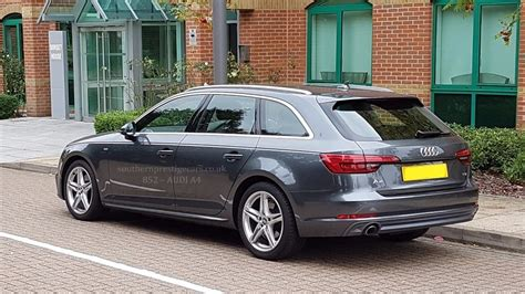 Audi A4 Avant Sale by Used Grey Audi A4 Avant For Sale Surrey