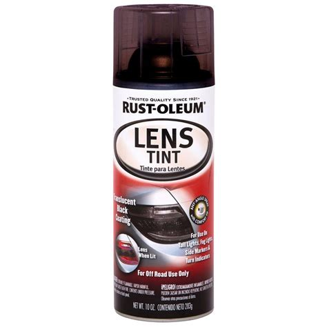 rust oleum automotive 10 oz lens tint spray paint 6 pack 253256 the home depot