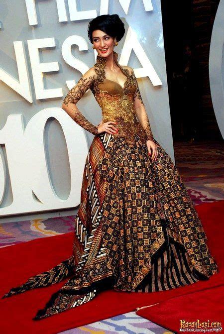 Dress Brukat Lace Gaun Baju Wanita Merah Natal Mini 1000 images about brokat on kebaya lace kebaya and prom dresses
