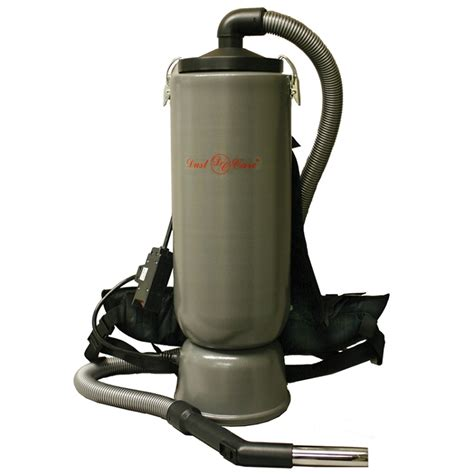 vacuum dust dust care backpack vacuum 10 quart aluminum body dc 120
