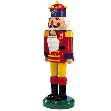 large nutcrackers outdoor sculpture holidays decoration