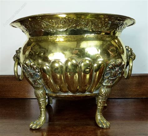 Antique Brass Planter by Antiques Atlas 19th C Brass Planter