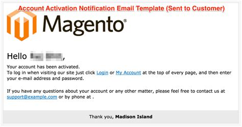 Activation Email Template store restriction pro v1 0 0 disable registration