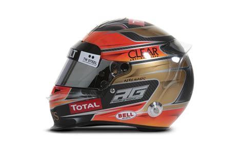Helm Shoei Lotus F1 Helmet 2012 Grosjean Lotus F1 Team F1 2012