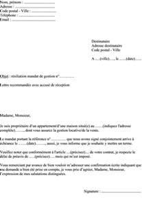 lettre de résiliation Actualités, informations pratiques, modèles de lettres et démarches