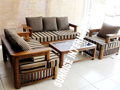 wooden furniture for living room designs sofa design large big wooden sofa set living room design