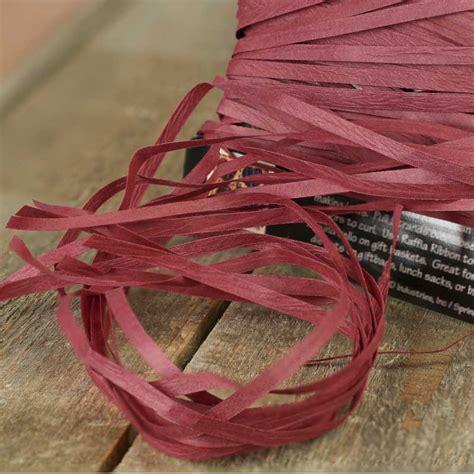 Paper Ribbon Crafts - raffia paper crafts