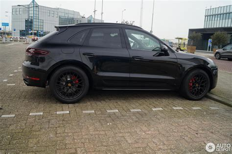 porsche macan all black porsche 95b macan gts 21 march 2016 autogespot