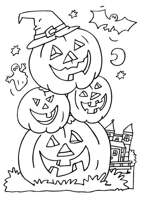 coloring pages free printable halloween free printable halloween coloring pages for kids