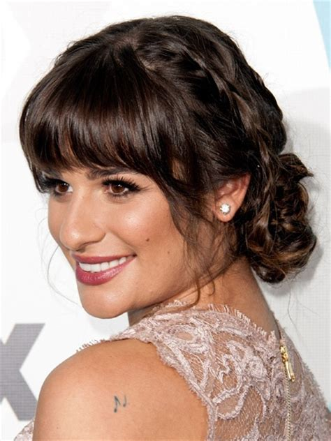 u shape with bangs types of bangs cloudythursday