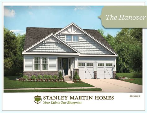 the hanover model we build on your lot stanley martin