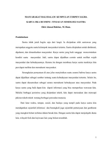 Kumpulan Cerita Lucu: Contoh Cerpen Bahasa Bali Singkat