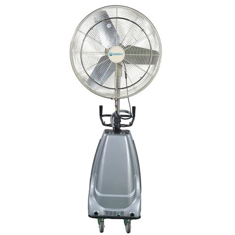 portable misting fans with tank 30 in 3 speed portable and oscillating high pressure