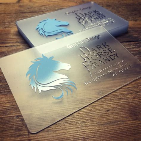 Plastic Card Design 25 best ideas about plastic business cards on