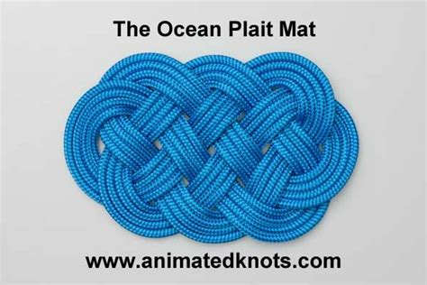 Easy Decorative Knots - tutorial on plait mat tying amazing site for knots