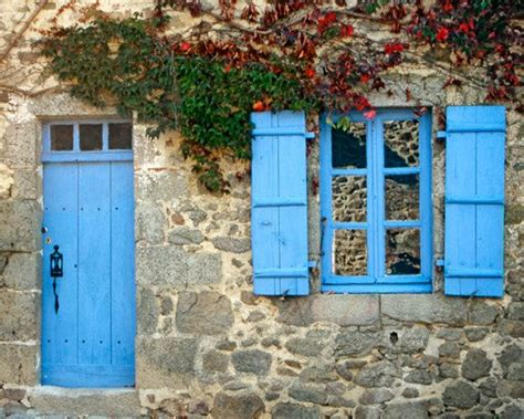images of cottage shutters blue door window shutter