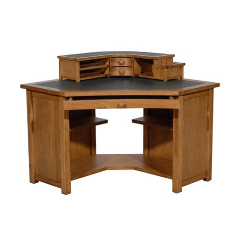oak corner desk home office whitevan